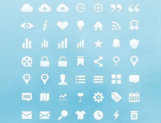 50 Fresh Icon Sets For Developers And Designers 34