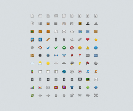 50 Fresh Icon Sets For Developers And Designers 14