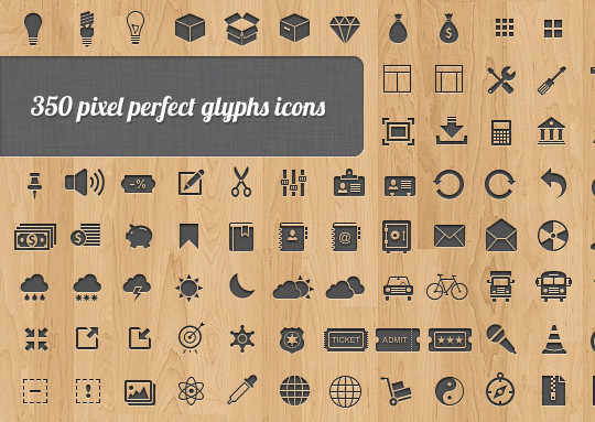 50 Fresh Icon Sets For Developers And Designers 4