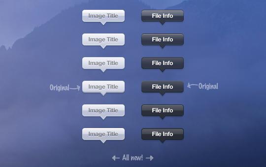 15 Free High Quality ToolTip PSD's 1
