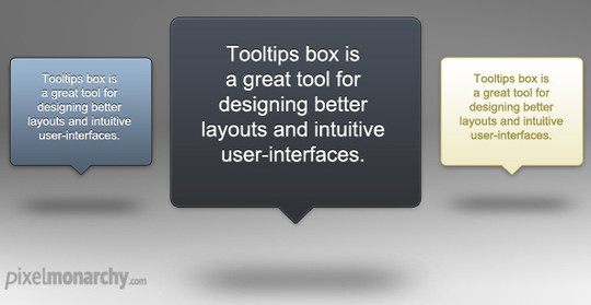15 Free High Quality ToolTip PSD's 6