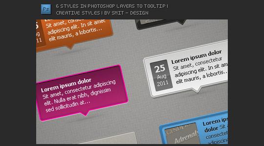 15 Free High Quality ToolTip PSD's 8