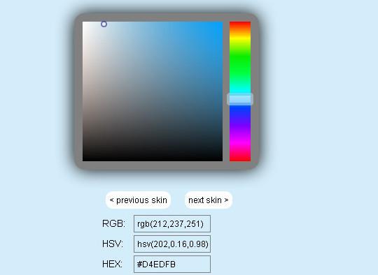 10 Most Useful Javascript Color Pickers Plugins 8