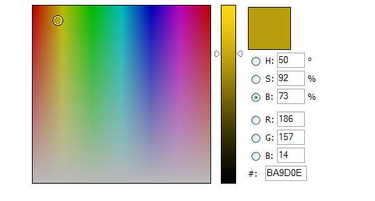 10 Most Useful Javascript Color Pickers Plugins 9