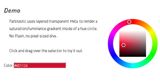 10 Most Useful Javascript Color Pickers Plugins 10