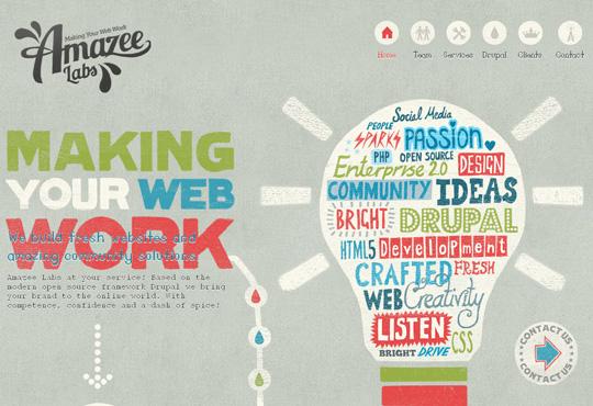 Showcase Of Creative Navigation Menus Examples 3