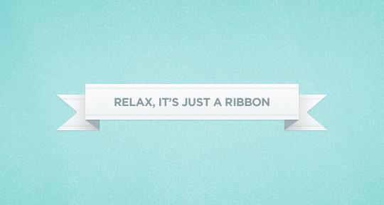 15 Beautiful Yet Free Ribbons PSD Files 14