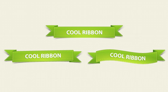 15 Beautiful Yet Free Ribbons PSD Files 8