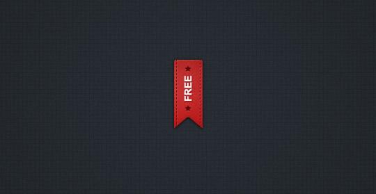 15 Beautiful Yet Free Ribbons PSD Files 7
