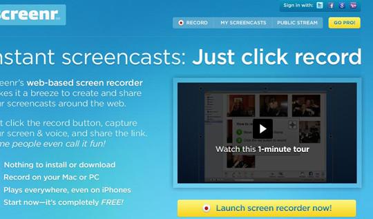 8 Free Screencasting Tools For Making Video Tutorials 6