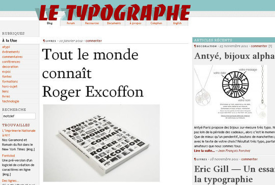 18 Must Read Typography Related Blogs 14