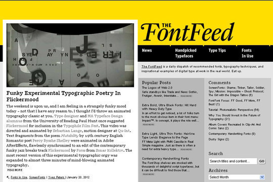 18 Must Read Typography Related Blogs 17