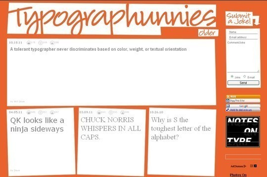 18 Must Read Typography Related Blogs 4