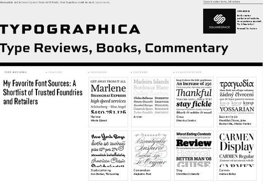 18 Must Read Typography Related Blogs 7