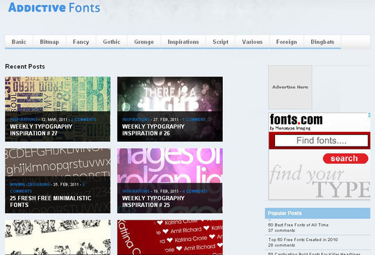18 Must Read Typography Related Blogs 8