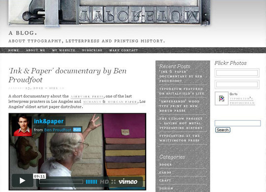 18 Must Read Typography Related Blogs 12