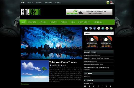 40+ Fresh And Free Wordpress Themes 4