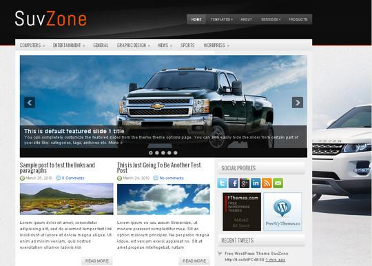 40+ Fresh And Free Wordpress Themes 1
