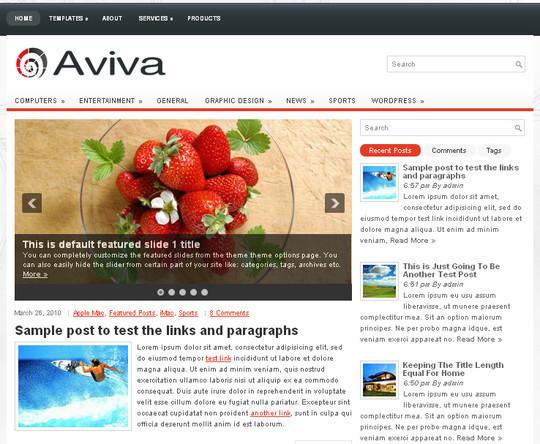 40+ Fresh And Free Wordpress Themes 21