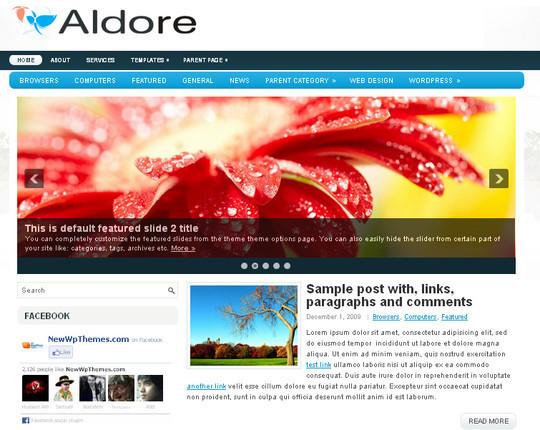 40+ Fresh And Free Wordpress Themes 5