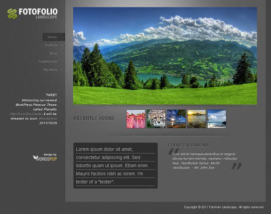 40+ Fresh And Free Wordpress Themes 22