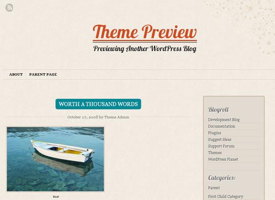 40+ Fresh And Free Wordpress Themes 24