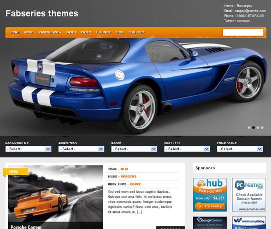 40+ Fresh And Free Wordpress Themes 26