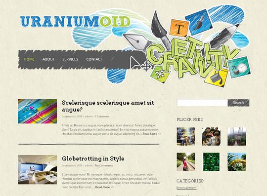 40+ Fresh And Free Wordpress Themes 29