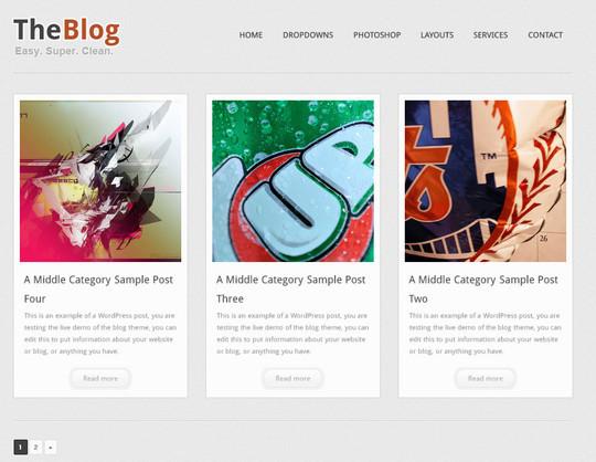40+ Fresh And Free Wordpress Themes 31
