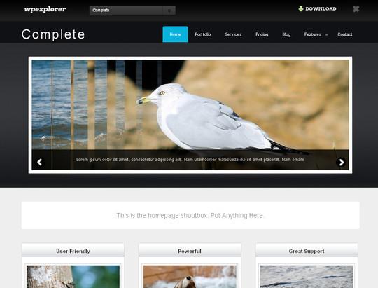 40+ Fresh And Free Wordpress Themes 32