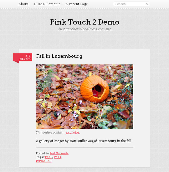 40+ Fresh And Free Wordpress Themes 12