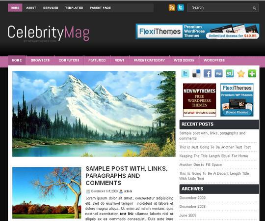 40+ Fresh And Free Wordpress Themes 41
