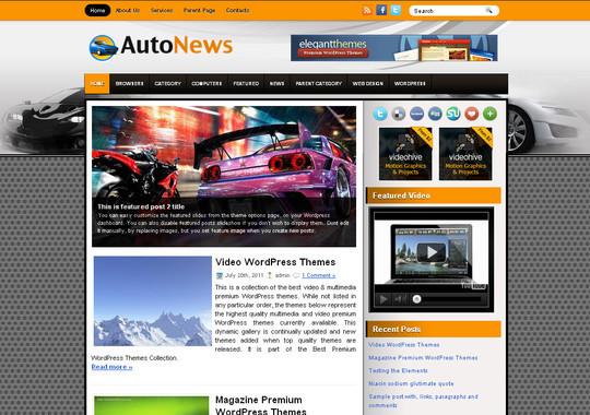 40+ Fresh And Free Wordpress Themes 17