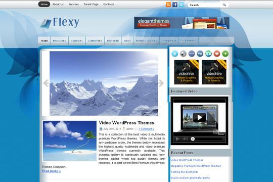 40+ Fresh And Free Wordpress Themes 18