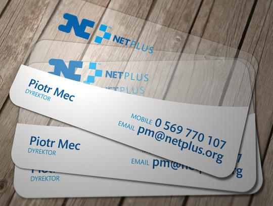 40 Creative Examples Of Transparent Business Cards 12