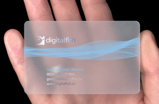 40 Creative Examples Of Transparent Business Cards 15