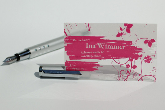40 Creative Examples Of Transparent Business Cards 18