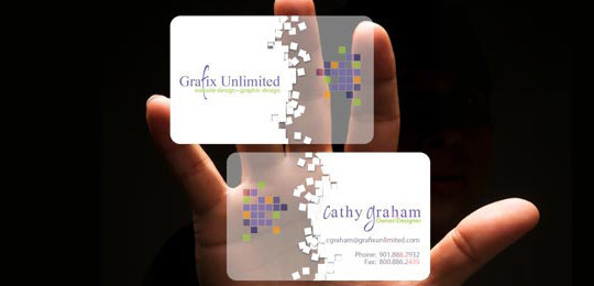 40 Creative Examples Of Transparent Business Cards 21