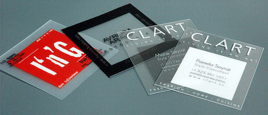 40 Creative Examples Of Transparent Business Cards 23