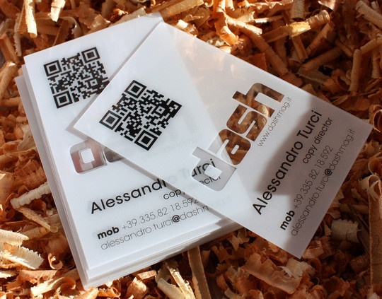 40 Creative Examples Of Transparent Business Cards 32