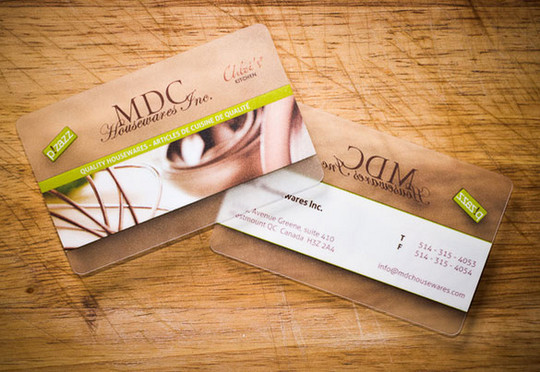 40 Creative Examples Of Transparent Business Cards 39