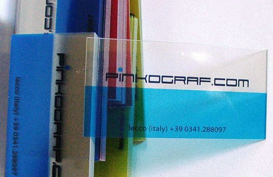 40 Creative Examples Of Transparent Business Cards 1