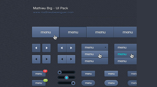 50 Extremely Useful PSD Files From Dribbble 28