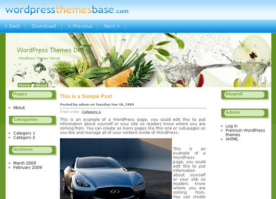 Ultimate Collection Of Free Wordpress Themes For Food And Recipe Blogs 12