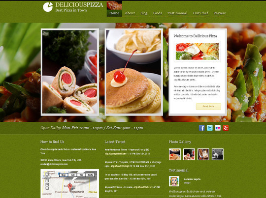 Ultimate Collection Of Free Wordpress Themes For Food And Recipe Blogs 2