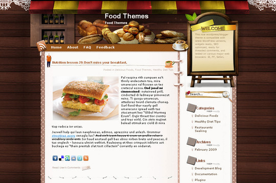 Ultimate Collection Of Free Wordpress Themes For Food And Recipe Blogs 16