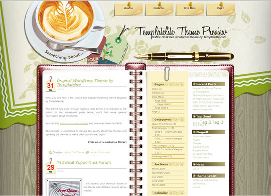 Ultimate Collection Of Free Wordpress Themes For Food And Recipe Blogs 18