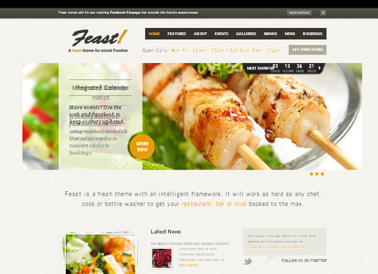 Ultimate Collection Of Free Wordpress Themes For Food And Recipe Blogs 21