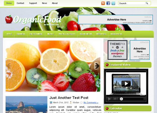 Ultimate Collection Of Free Wordpress Themes For Food And Recipe Blogs 23