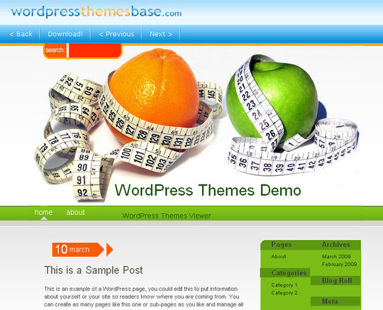 Ultimate Collection Of Free Wordpress Themes For Food And Recipe Blogs 24
